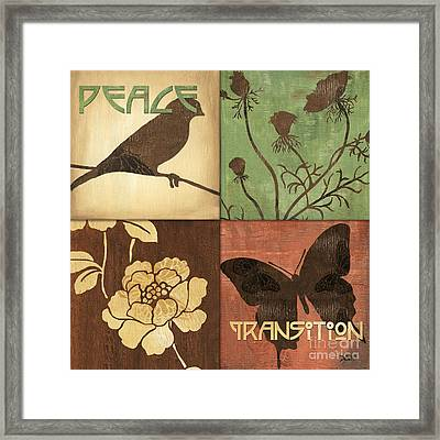 Organic Nature 1 Framed Print