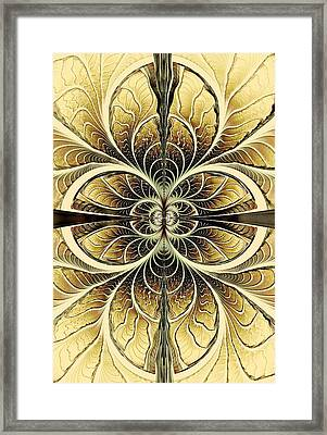 Organic Texture Framed Print by Anastasiya Malakhova