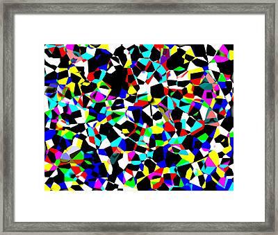 Organized Chaos Framed Print by Jordan Judd