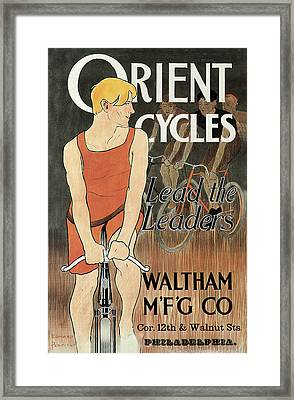 Orient Cycles Framed Print