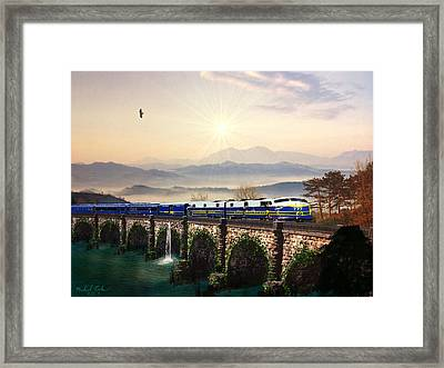 Orient Express Framed Print by Michael Rucker