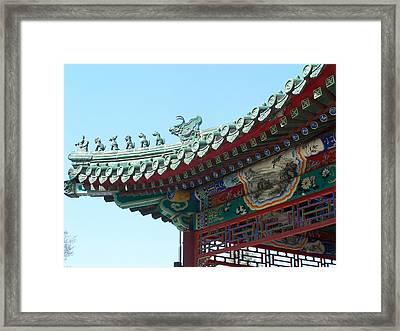 Oriental Dream Framed Print by Steve Huang