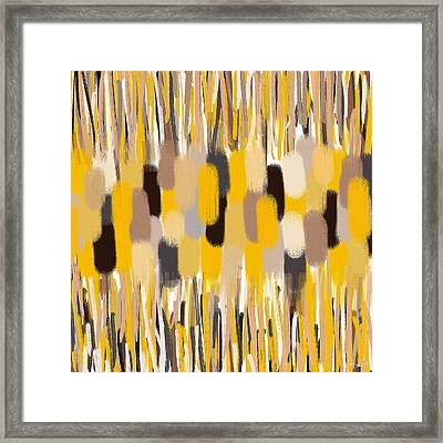 Oriental Feel Framed Print by Lourry Legarde