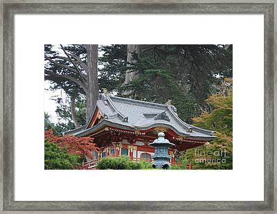 Framed Print featuring the photograph Oriental Garden #1 by George Mount