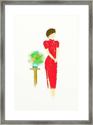 Orient Framed Print by Len YewHeng