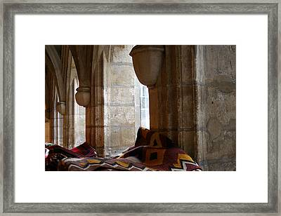 Oriental Rugs In Paris Framed Print