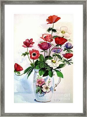 Oriental Splendor Framed Print