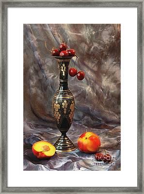 Oriental Still Life Framed Print by Irina No