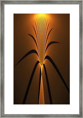 Oriental Vase Framed Print