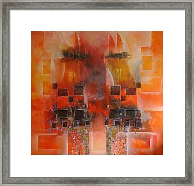 Oriente - Far East Framed Print by Hermes Delicio