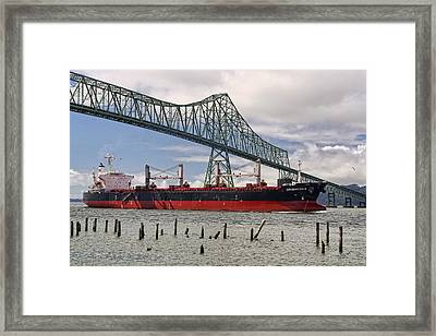 Orientor 2 Framed Print by Wes and Dotty Weber