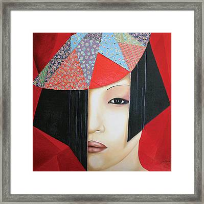 Origami Framed Print by Alexandra Louie