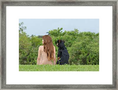 Origin Framed Print by Laura Fasulo