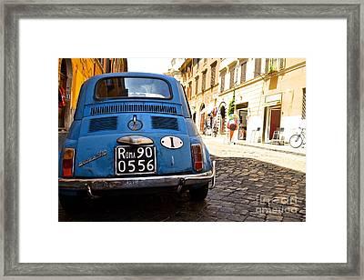 Original Fiat Framed Print