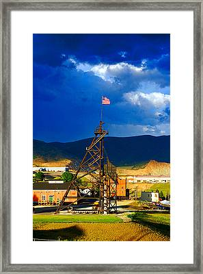 Original Mine Yard Framed Print