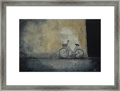 I've Seen Darker Days Framed Print