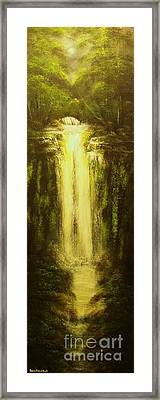 High Falls-original Sold-buy Giclee Print Nr 37 Of Limited Edition Of 40 Prints   Framed Print