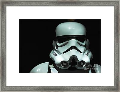 Original Stormtrooper Framed Print by Micah May