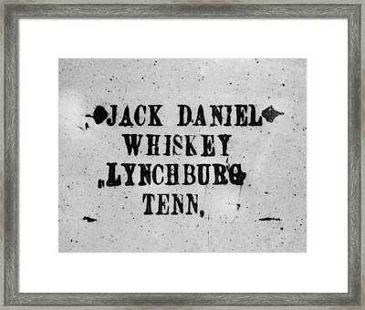 Original Whiskey Framed Print by JAMART Photography