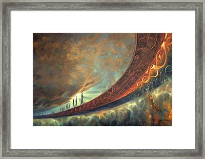 Origins Framed Print