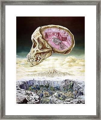 Origins Of Life Framed Print
