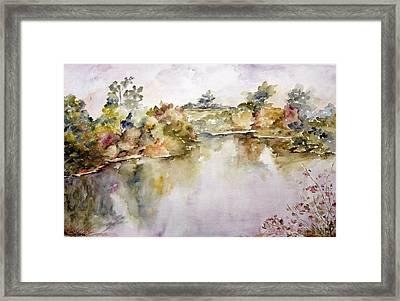 Orillas I Framed Print