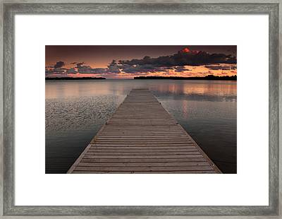 Orillia Ontario Framed Print by Cale Best