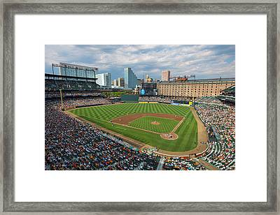 Oriole Park At Camden Yards Framed Print