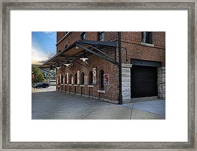 Oriole Park Box Office Framed Print by Susan Candelario