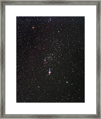 Orion Framed Print by Alan Ley