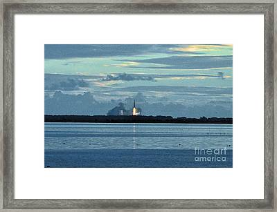 Orion Lift Off  Framed Print