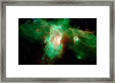 Orion Molecular Cloud Complex Framed Print by Nasa/jpl-caltech