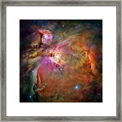 Orion Nebula Framed Print by Benjamin Yeager