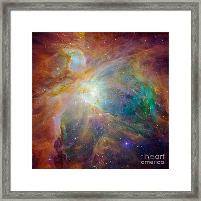 Orion Nebula Detail Framed Print