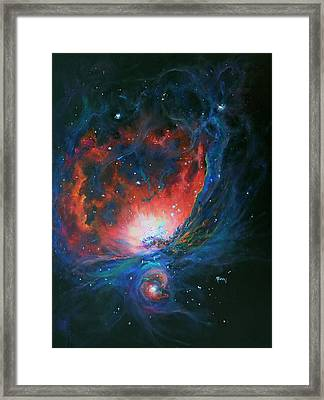 Orion Nebula M42 Framed Print by Marie Green