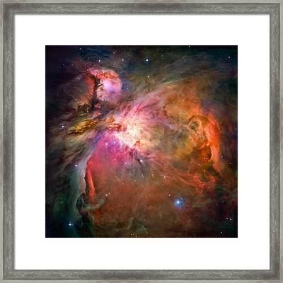 Orion Nebula Framed Print by Marco Oliveira