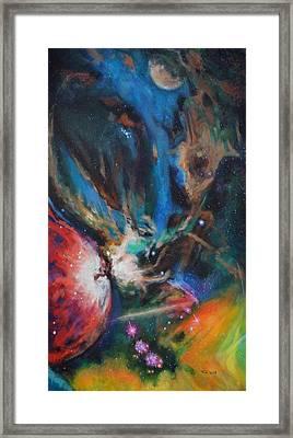 Orion Nebula Framed Print by Toni Wolf