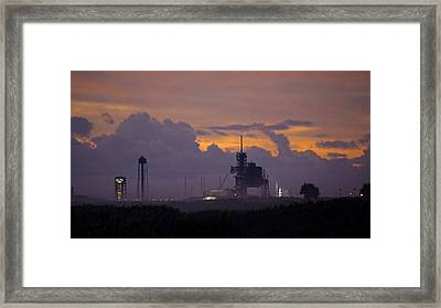Orion Waiting For Daylight Framed Print