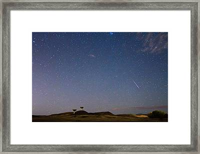 Orionid Meteor Shower Framed Print by James BO  Insogna
