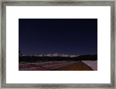 Orion's Descent Framed Print by Jeremy Rhoades