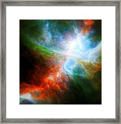 Orion's Rainbow 4 Framed Print by Jennifer Rondinelli Reilly - Fine Art Photography