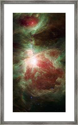 Orion's Sword Framed Print by Adam Romanowicz