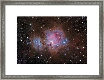 Orion's Sword Framed Print by Brian Peterson