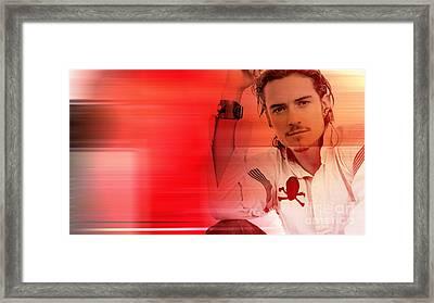 Orlando Bloom Framed Print
