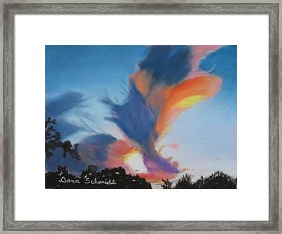 Orlando Sunset 9-3-13 Framed Print