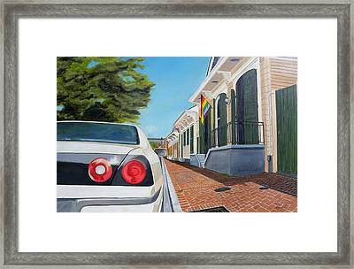 Orleans Avenue- French Quarter Framed Print by Bryan Ory