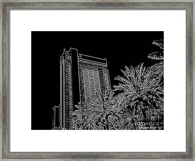 Orleans High Rise Framed Print by Joseph Baril