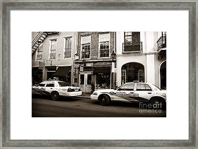Orleans Pd Framed Print by John Rizzuto
