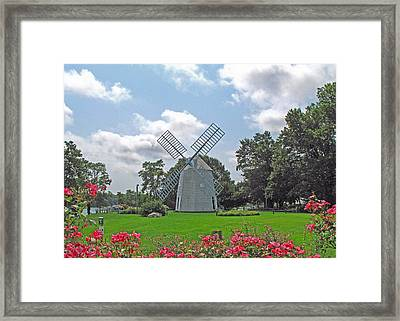Orleans Windmill Framed Print