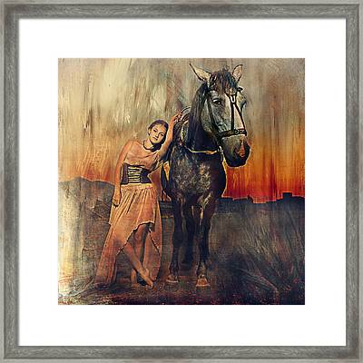 Orlov Love 1 Framed Print by Lyndsey Warren